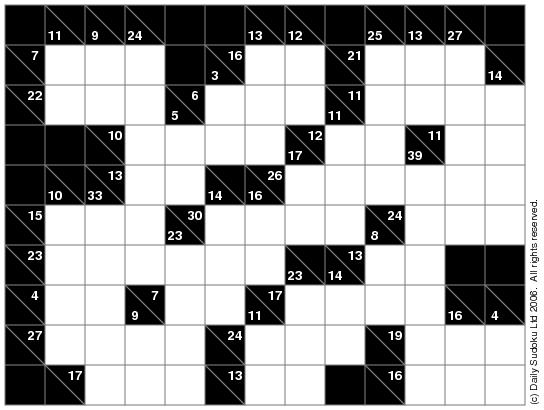 how to play kakuro pdf