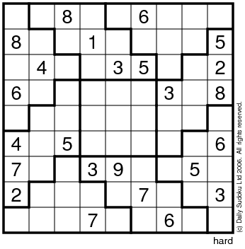 picture regarding 16 Square Sudoku Printable identify The Each day SuDoku